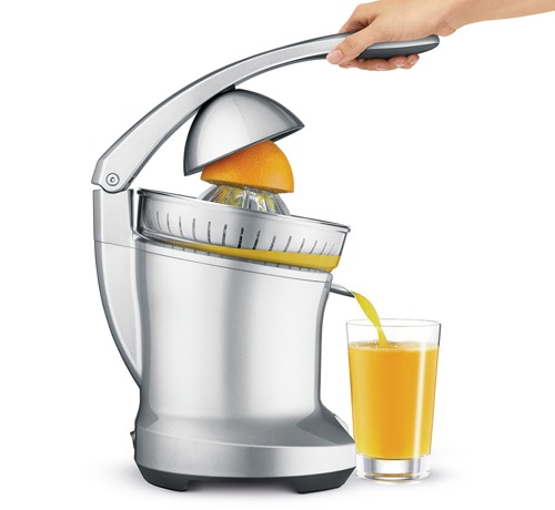 Breville BCP600SIL Motorized Citrus Press Juicer