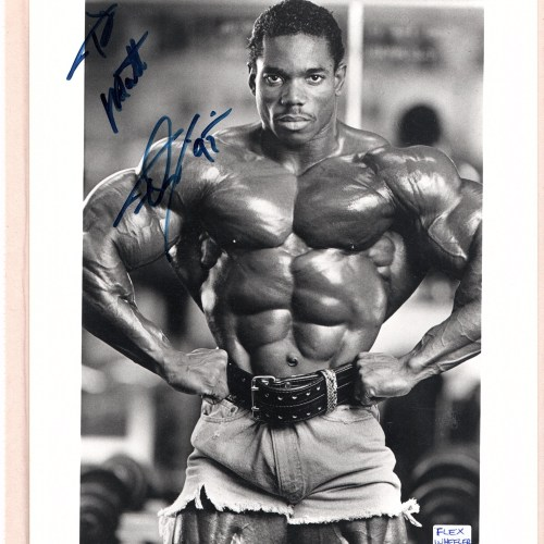 Flex Wheeler Bodybuilder