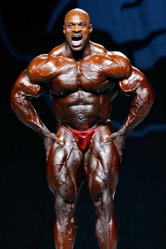 Bodybuilder Ronnie Coleman