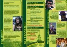 Dorffest 20111 - Programm