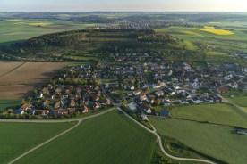 Ein weiter Blick über die Schwäbische Alb.