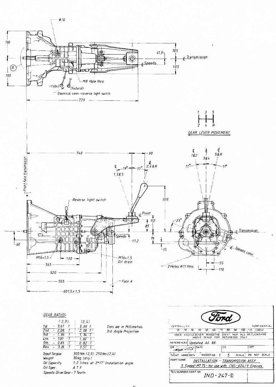 medium resolution of mt75 gearbox dimensions