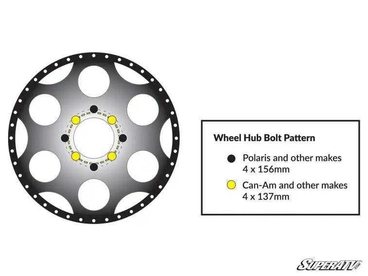 T44 Series Wheels Superatv