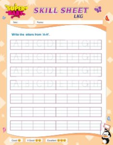 Lkg english worksheets superbaby also rh superbabyonline