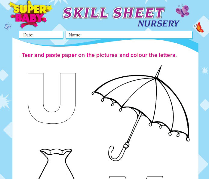 Free Preschool Worksheets Numbers