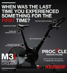 keiser-m3i indoor spin bike reviews
