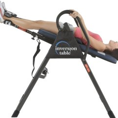 Hanging Upside Down Chair For Back Covers Northern Ireland Top 5 Best Inversion Tables Pain Therapy