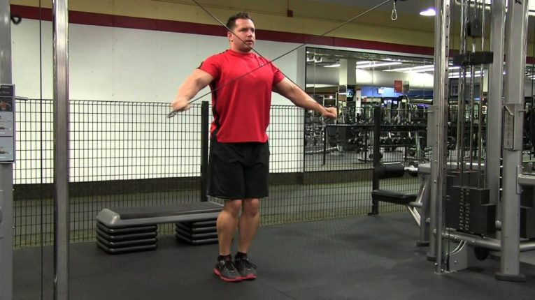 Crossover Rear Delt Rows- Bowflow Exercises