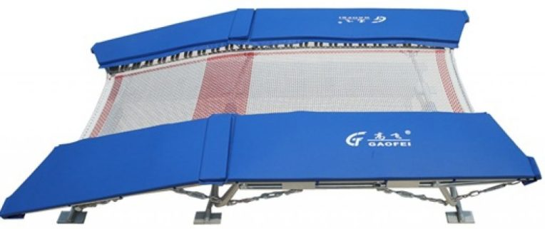 Double Mini Trampoline