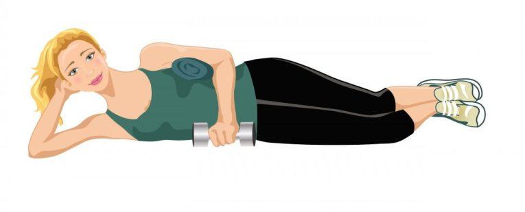 External Rotation Lying -Shoulder Impingement Exercises
