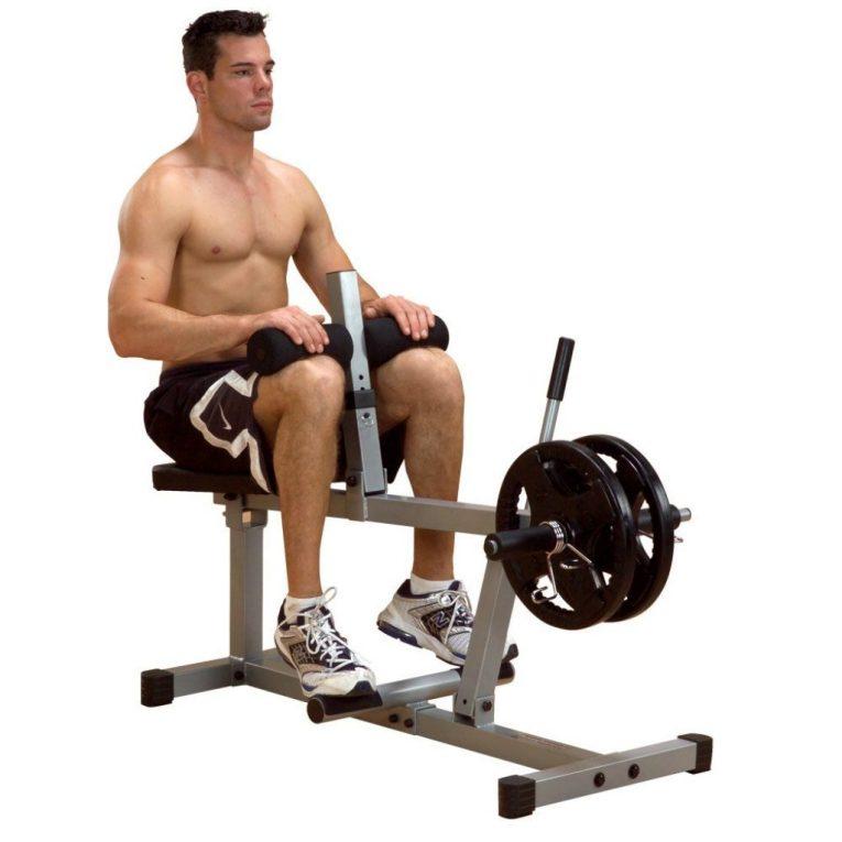 Seated Calf Raise- Bowflow Exercise