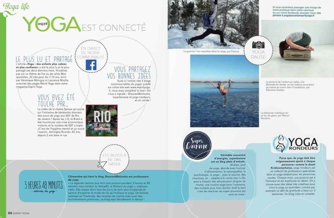 Superbanane sans Esprit Yoga magazine