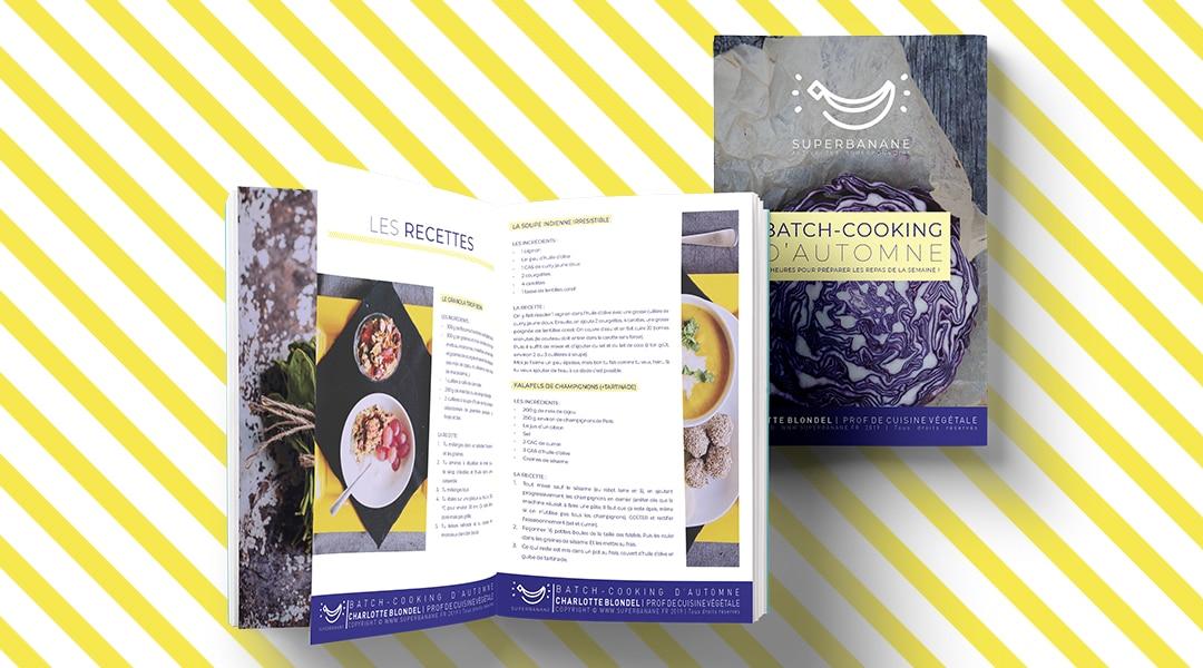 E-book : BATCH-COOKING d'automne, cadeau !