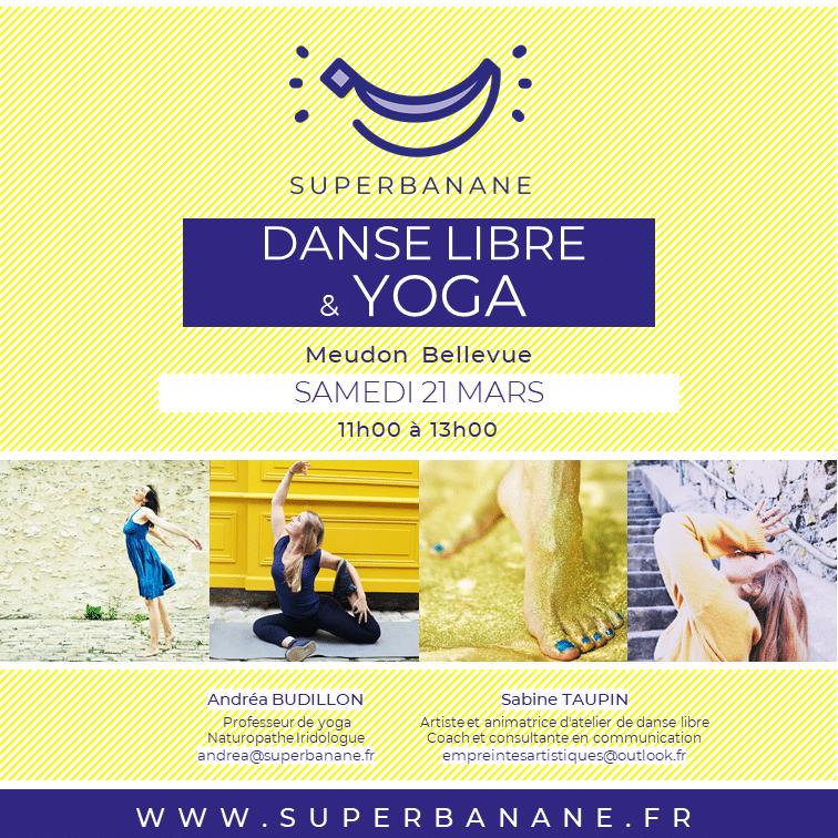 atelier danse libre et yoga