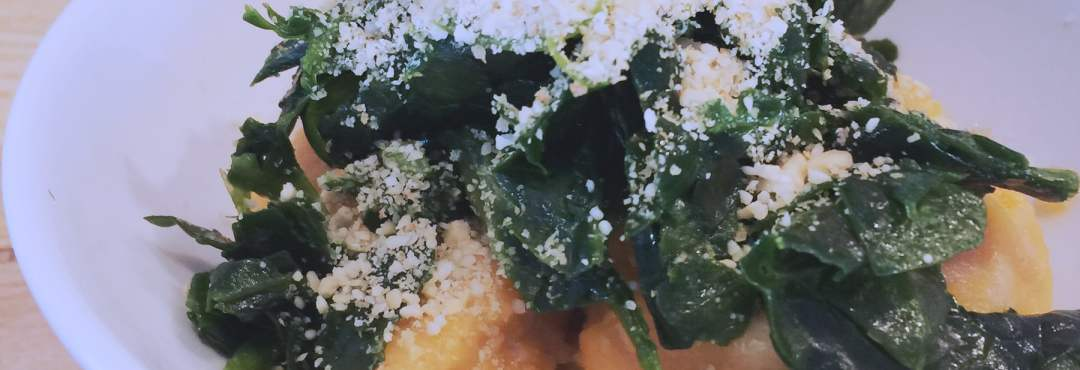 Gnocchis de patate douce