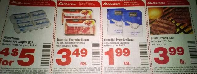 Ofertas súper baratísimas del 22 al 28 de Enero en Albertsons #realfreshnw