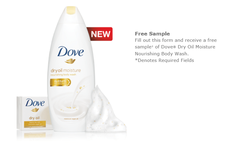 free sample, muestra gratis, dove free sample