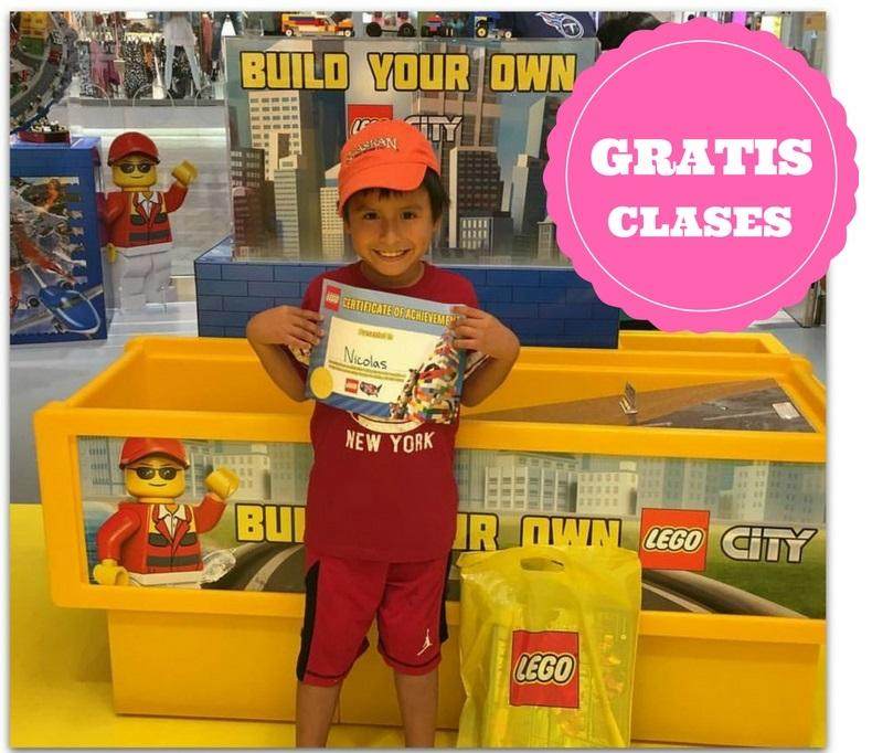 aea6e56cc GRATIS clases y regalito en las tiendas LEGO el 6 y 7 de Diciembre