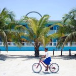 Bike is a very popular form of transport in Belize.
