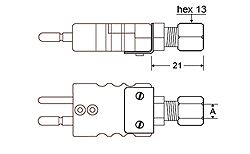 High Quality Miniature Connector K J N T B Type