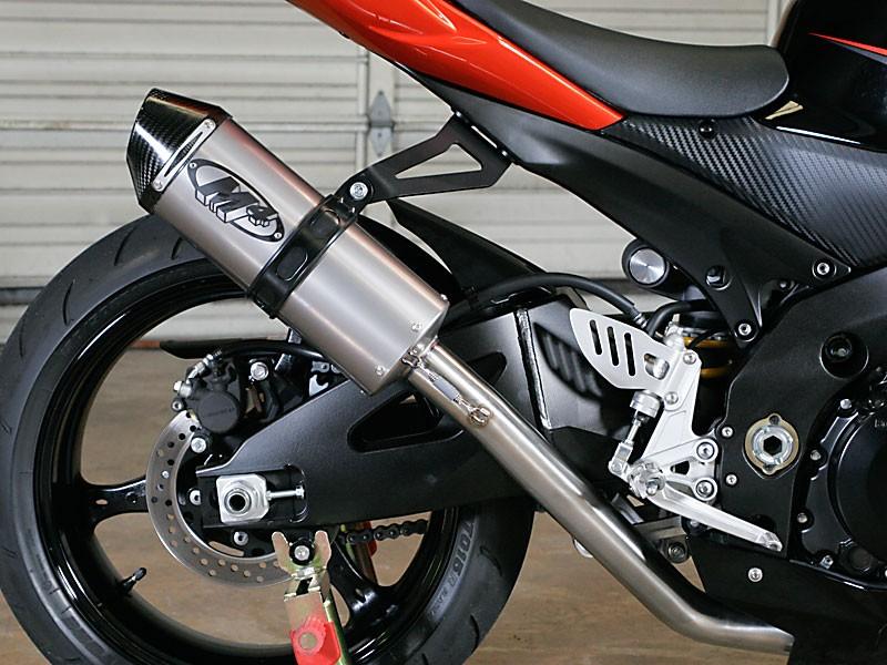 m4 racing full system with titanium muffler 07 08 suzuki gsx r1000
