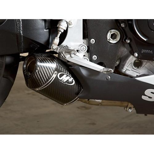 m4 exhaust street slayer slip on exhaust 06 07 suzuki gsx r600
