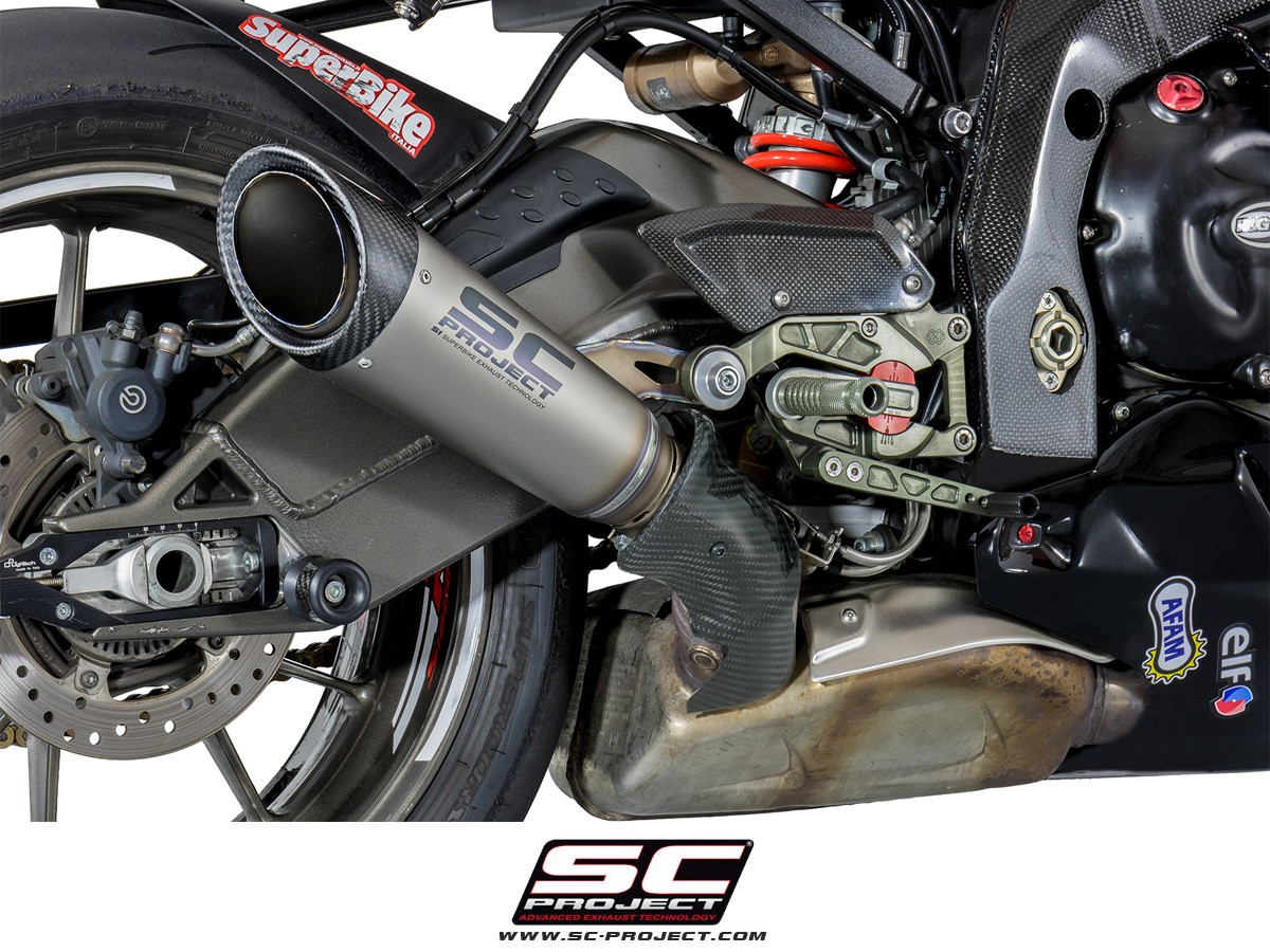 sc project 2009 2014 bmw s1000rr s1 slip on exhaust