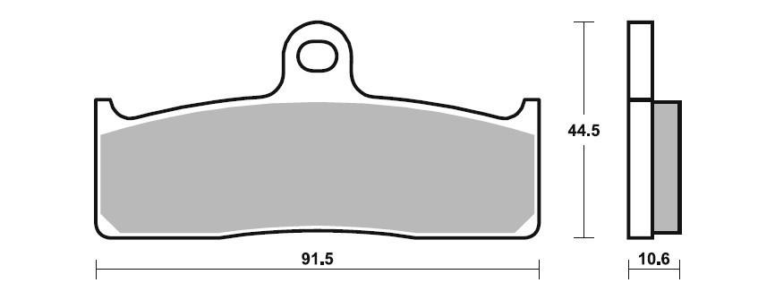 SBS Dual Sinter Brake Pads-Nissin 6 Piston Racing Calipers