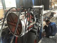 Steel melting furnace
