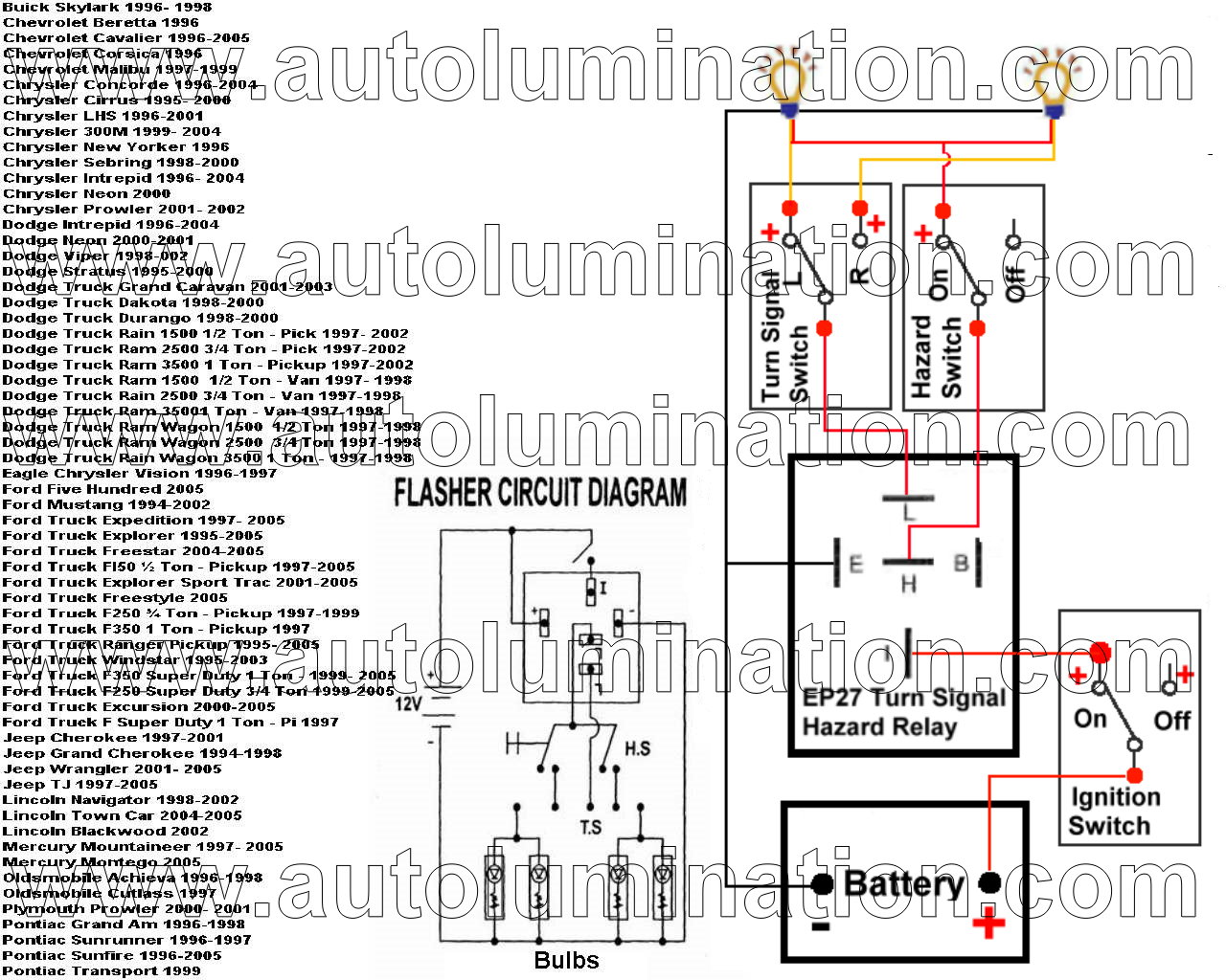 2 Prong Flasher Wiring Diagram Free Download • Oasis-dl.co