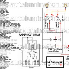 Wiring Diagram Turn Signal Relay Electronic Major Project With Circuit Led Flashers Blinkers Resistors Load Equalizers For