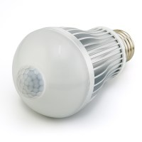 6 Watt LED A19 Globe Bulb with Motion Sensor | Motion ...