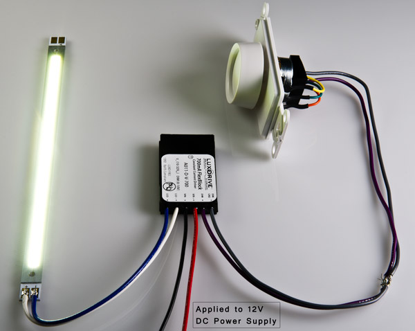 The Led Driver Is The One That Draws The Led Light Bulbs To Light Up