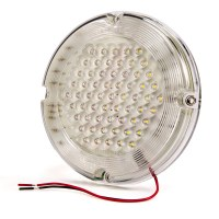 SunLight White Round Dome Light LED Fixture-Down & Ceiling ...
