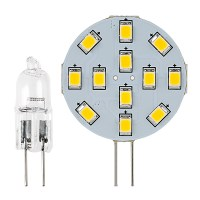 G4 LED Bulb - 2 Watt (20 Watt Equivalent) Bi-Pin LED Disc ...