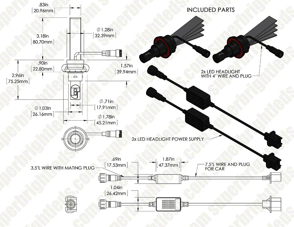 H4656 Headlight Wiring Diagram 2007 Mazda 6 Headlight