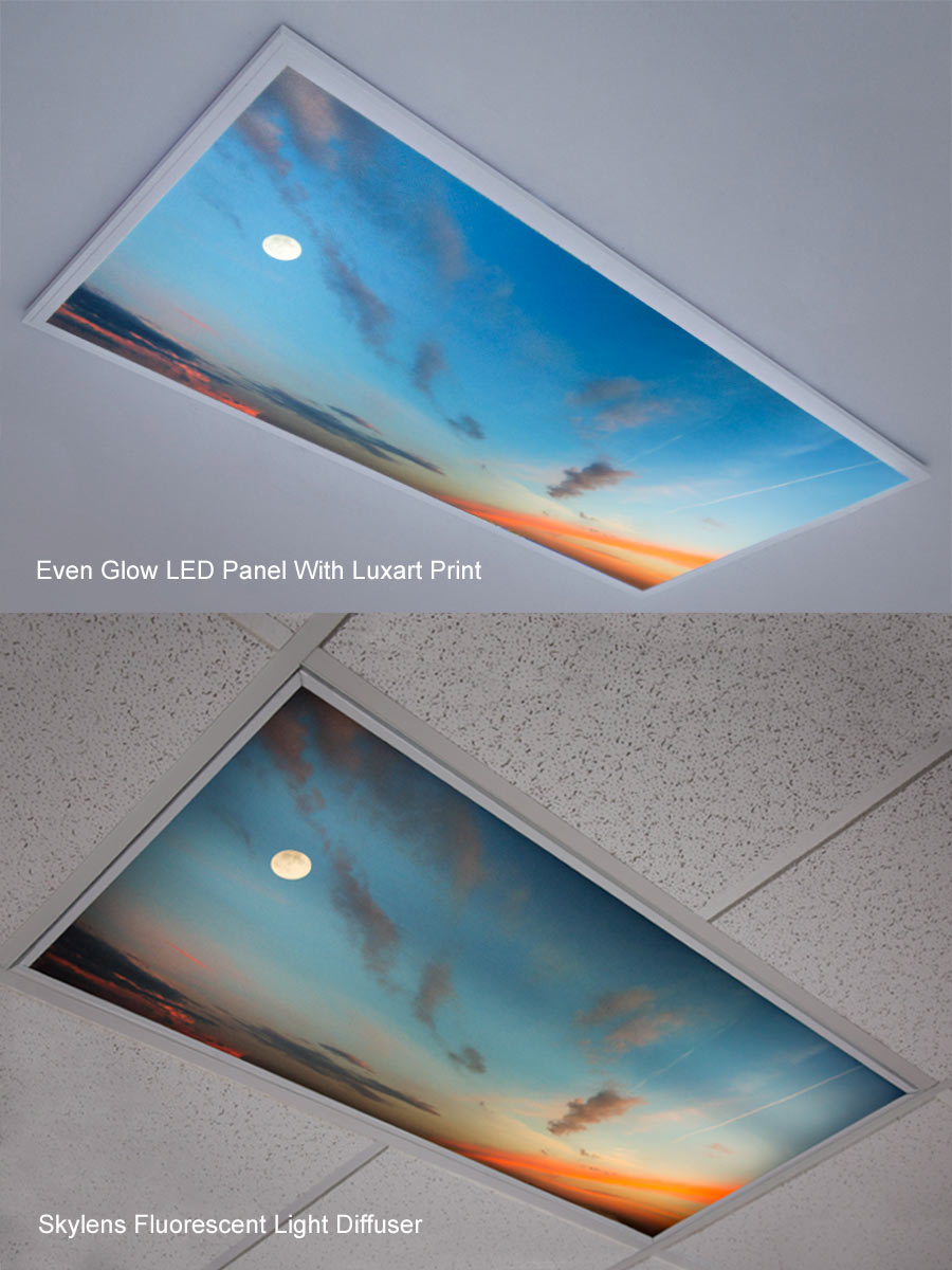 Fluorescent Light Diffuser Panels