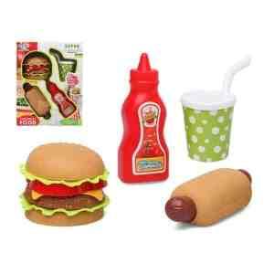 Ensemble d'aliments pour dînette Fast Food 112895