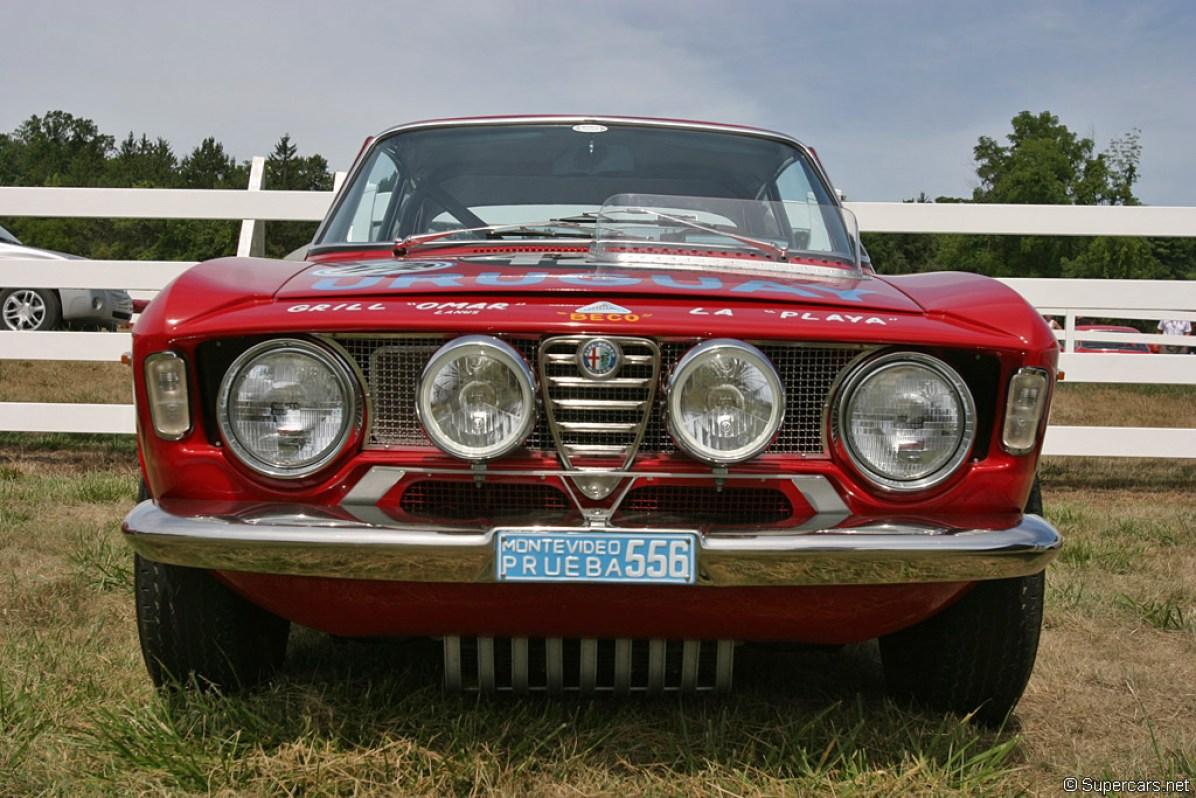 1965→1969 Alfa Romeo Giulia GTA