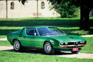 1970→1977 Alfa Romeo Montreal