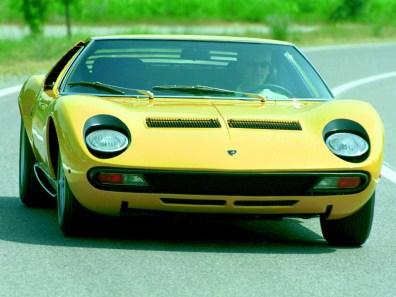 1971→1973 Lamborghini Miura P400 SV