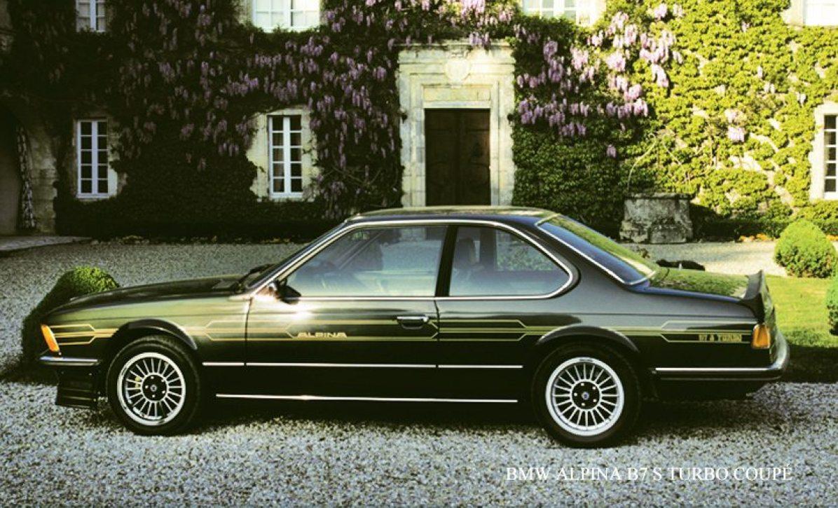 1982→1982 Alpina B7 S Turbo Coupé