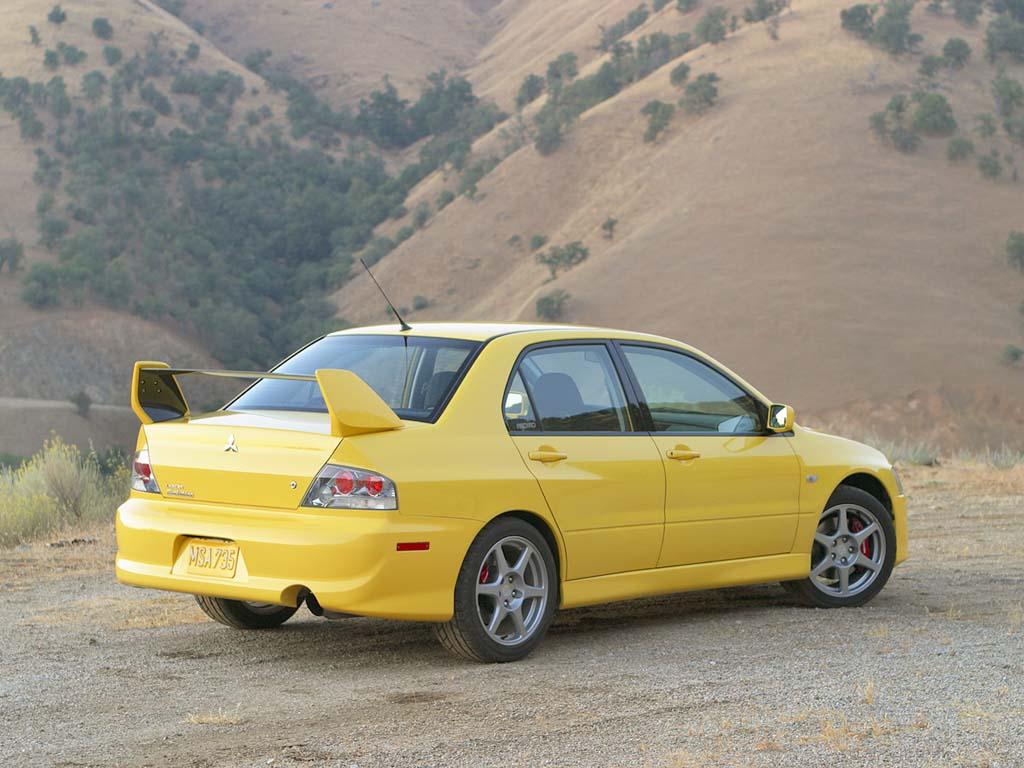2003 Mitsubishi Lancer Evolution VIII Review