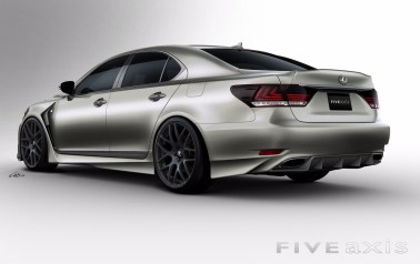 2012 Lexus LS F Sport by Five Axis