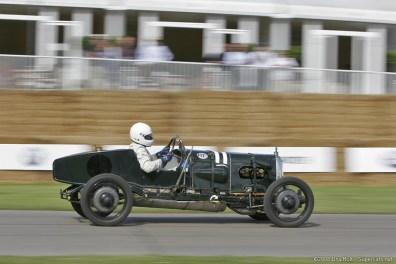 1922 Aston Martin Green Pea