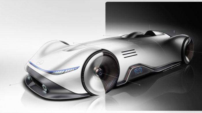 Mercedes Benz Vision Eq Silver Arrow An Insight Into