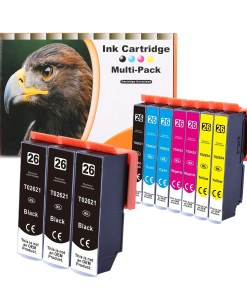 26XL Multipack voor Epson van 10 inktpatronen
