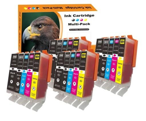 CLI551 PGI550 Multipack voor Canon van 20 inktpatronen