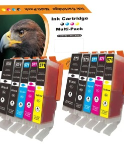 CLI571 PGI570 Multipack voor Canon van 10 inktpatronen