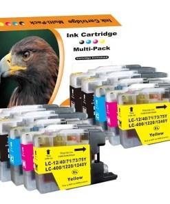 LC1240 Multipack voor Brother van 10 inktpatronen